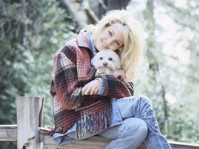 Heather Locklear Maltese dog