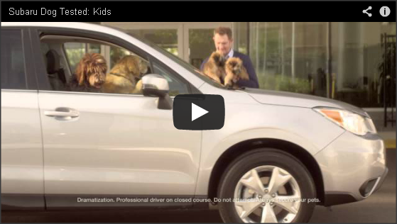 Subaru Dog Tested Kids Video